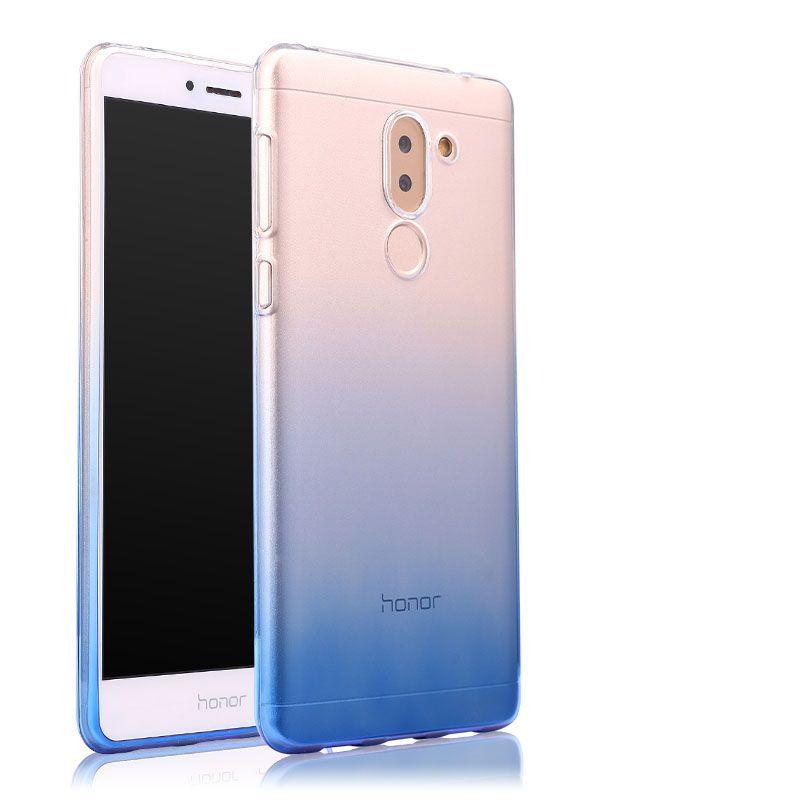 Huawei Honor 6x cas Transparent souple en silicone shell 5.5