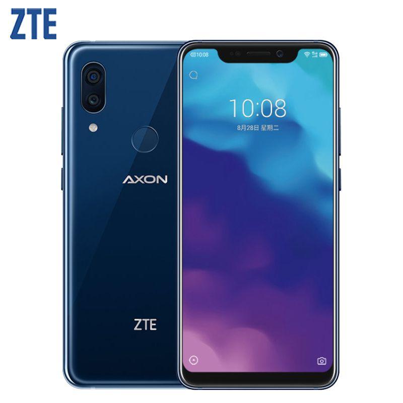 Original ZTE Axon 9 Pro IP68 Wasserdichte Handy 6,21 zoll 8 gb RAM 256 gb ROM Snapdragon 845 Octa core 4000 mah NFC Smartphone
