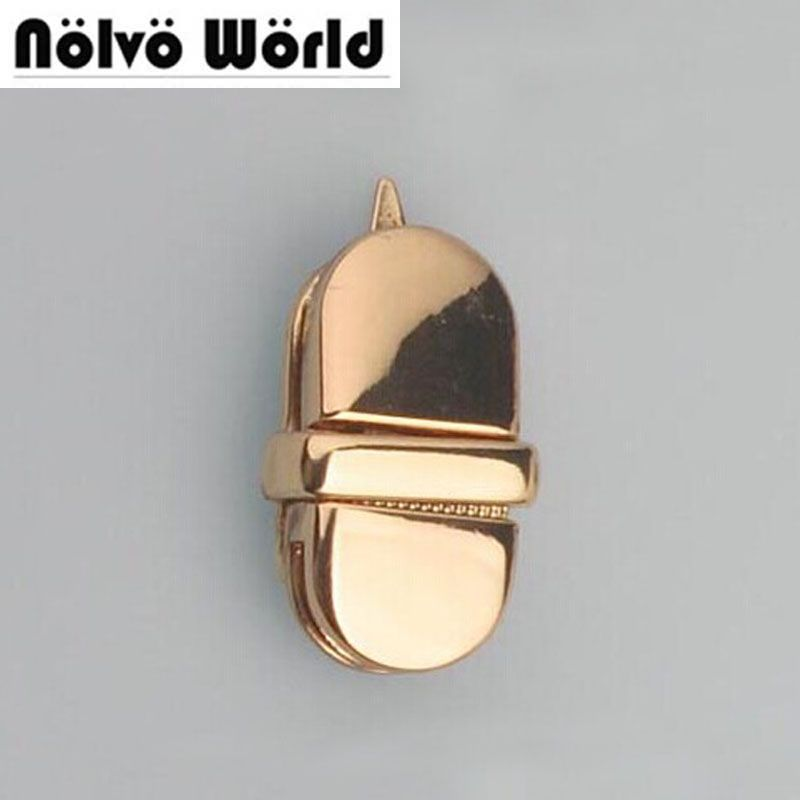 13*27mm small metal lock for making box suitcase bags,alloy metal cute long mortise lock type free ship