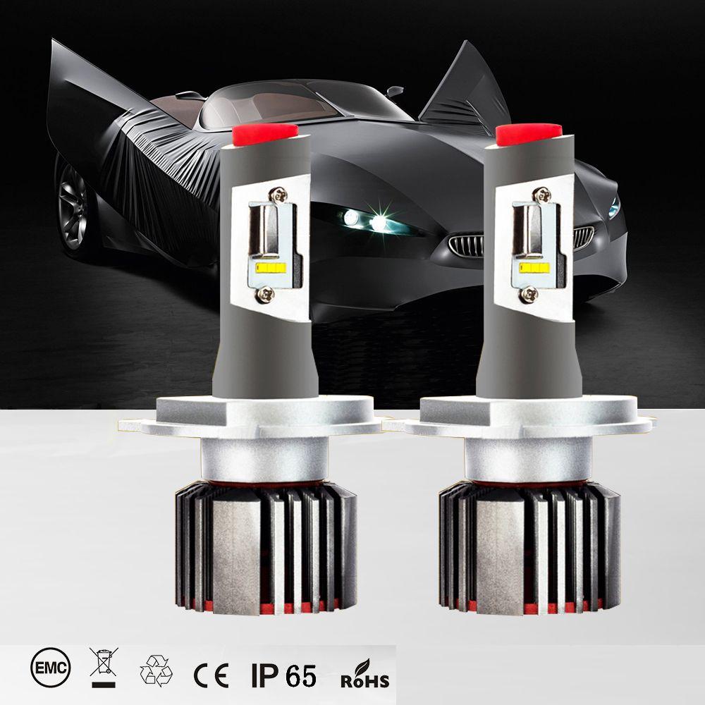 Made in USA Car LED Lights H7 head lamp 6500K cold white 8400LM CSP chip led H1 H3 H11 9005 9006 9012 H4 led lamp leds for auto
