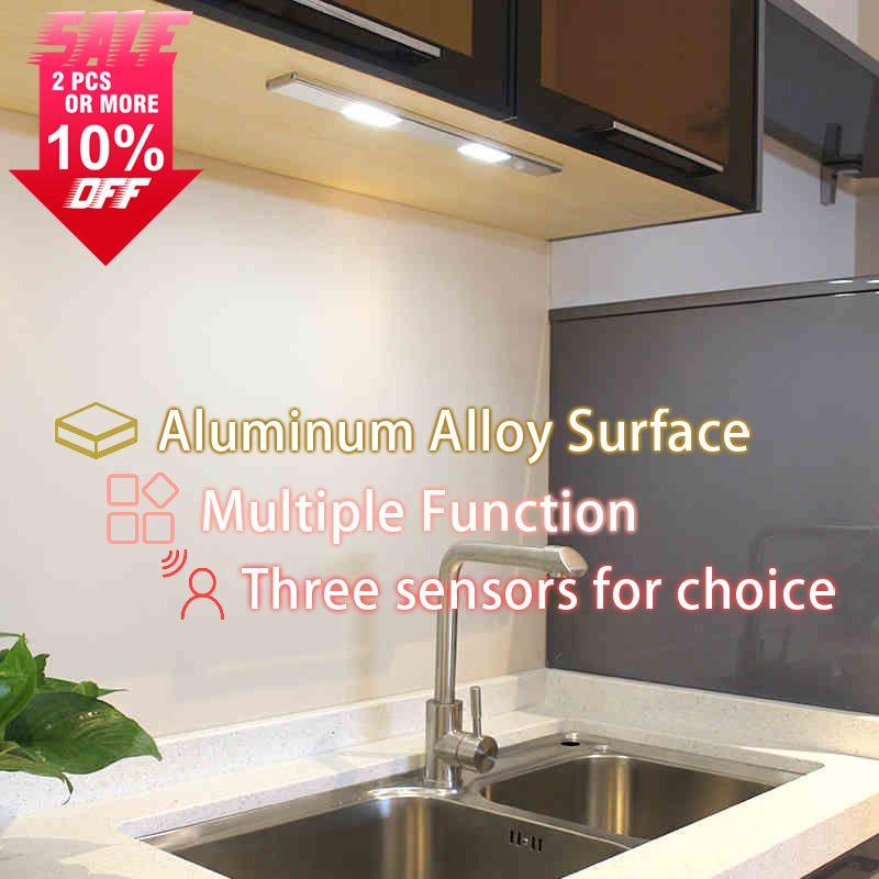 Mini 5 LED Nachtlicht Schrank Lampe Drahtlose Wandleuchte Akku Hause Beleuchtung für Unter Küchenschränke