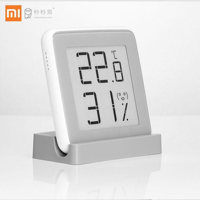 Xiaomi MiaoMiaoCe E-link ENCRE Écran Humidimètre Numérique de Haute Précision Thermomètre Capteur D'humidité De La Température