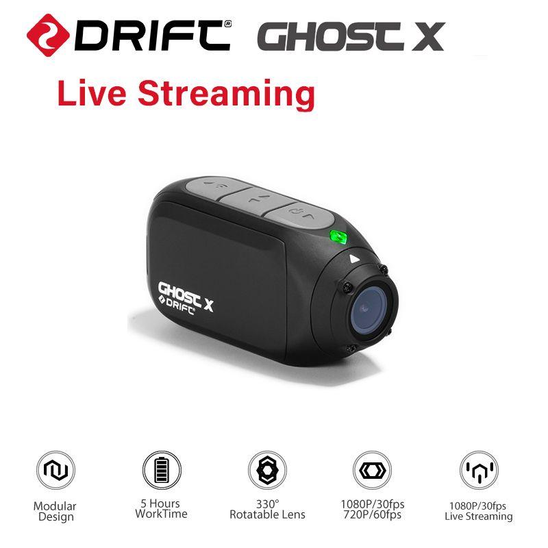 Drift Ghost X Action Kamera Ambarella A12 1080 P 30FPS 140 Grad Weitwinkel Sport Kamera für Motorrad und Berg bike