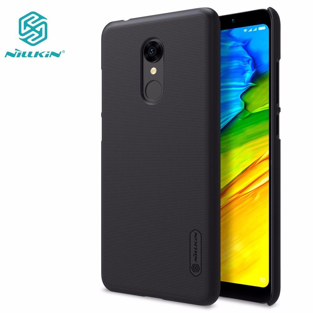 Xiaomi redmi 5 cas xiaomi redmi 4 pro premier/5 plus NILLKIN Super Givré Bouclier mat dur de couverture arrière