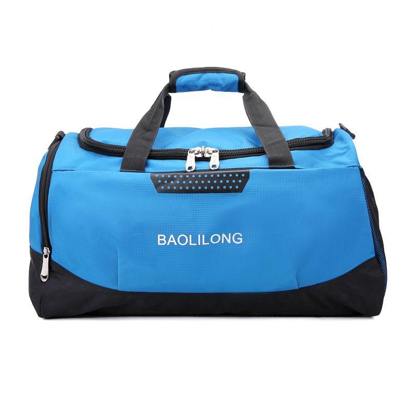 Men Women Big Capacity Training Gym Waterproof Sports Duffels Travel Bag Fitness Bags Multifunction Shoulder Handbag