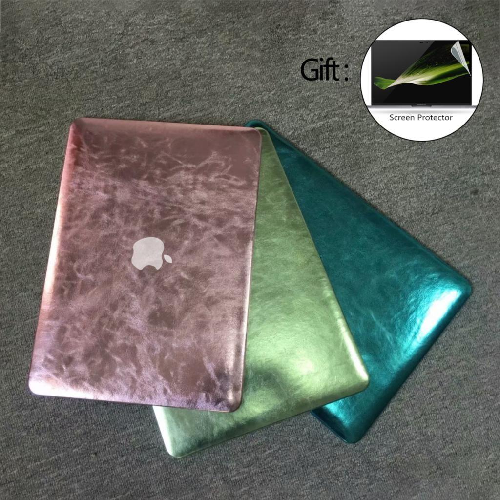 Briller Étui D'ordinateur Portable Pour Macbook Air Pro Retina 11 12 13 15 13.3 pouce avec Tactile Bar Pour MacBook cas + Écran protecteur