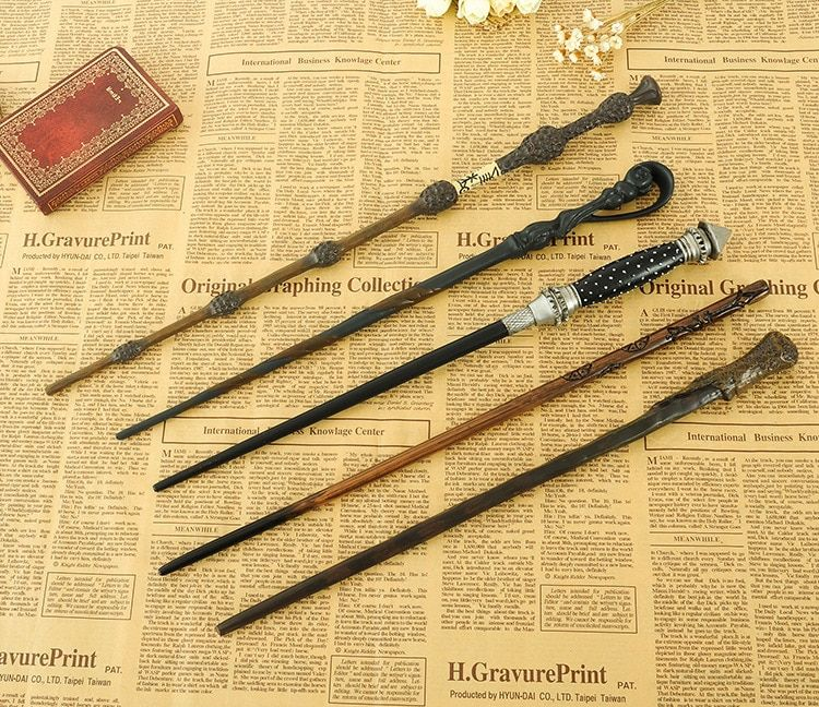 Harry Potter 20 Styles Dumbledore Cedric Diggor Iron Wand One Piece Action Figure Anime Figures Model For Girls Kids Lover Gift