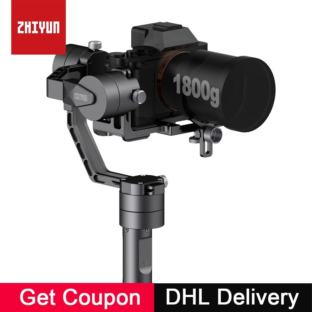 Zhiyun Crane V2 3-Axis Handheld Camera Gimbal 3 Axis Video Stabilizer 3 32Bit Brushless Motors for Canon Nikon Mirrorless Camera