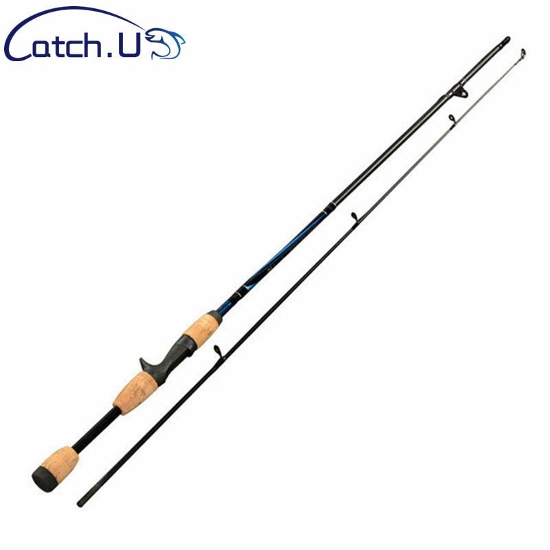 2 tip spinning fishing rod 7 M actions 6-12g lure weight Casting Lure Fishing Rod