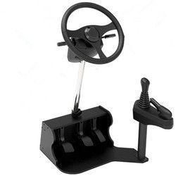 New computer Racing game steering wheel dual USB car driving simulator school car driving test driving school training mach