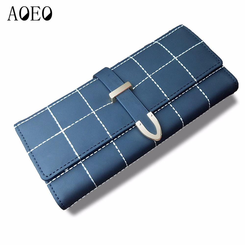 AOEO brieftasche weibliche multifunktionale lange kupplung Mädchen mit reißverschluss kartenhalter handy tasche damen Tasche frauen geldbörsen geldbörse