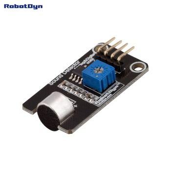 Microphone Son (Voix) Détecteur module, capteur, avec numérique et analogique notre