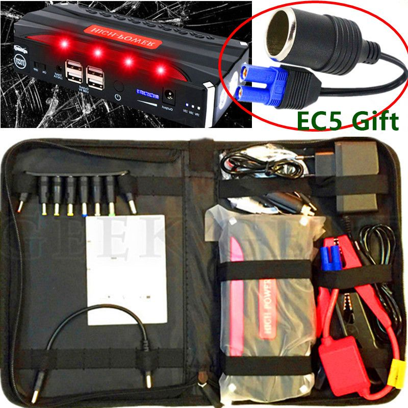 2017 Mini Emergency Car Jump Starter 12V Power Bank Portable Starter Car Charger Car Battery for Auto Cigarette lighter Booster