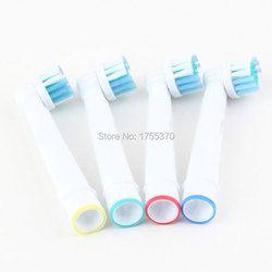 4 unids artículos de higiene bucal producto cerdas suaves sb-17a Rotary cepillo de dientes eléctrico cabeza del cepillo cabezas de reemplazo