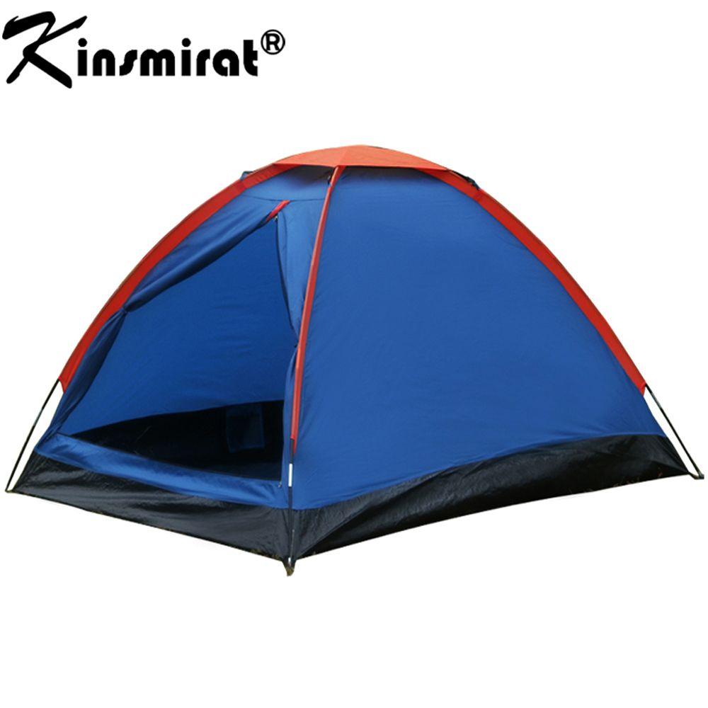Camping Zelt 2 Person Für Wandern Trekking Backpacking Angeln Drei Saison Zelt Polyester Pu-beschichtung Touristischen Zelt