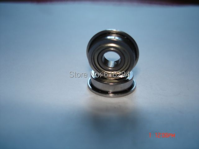High quality 10 PCS SF6800ZZ Bearings F6800ZZ Stainless Steel Flanged Bearings SF6800-2Z