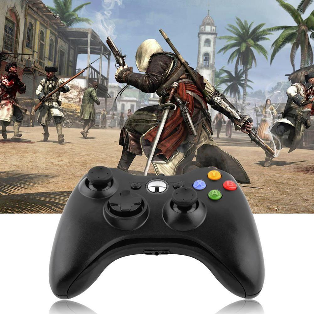 USB Filaire Joypad Game Controller Gamepad pour PC Contrôleur de Jeu Microsoft Xbox et Mince 360 pour Windows 7 joystick de Baisse gratuite