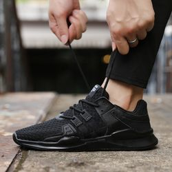 Hot Spring/Autumn High Quality Men Casual Shoes Fashion brand soft breathable Lace-up male shoes six colors plus size 39-46