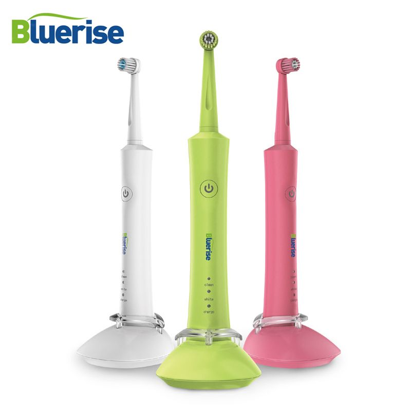 Électrique Brosse À Dents Rechargeable 2 Brosse à Dents Chefs Rotation Anti Slip Titulaire Preuve de L'eau Adulte Enfants Oral Hygiène Soins Dentaires