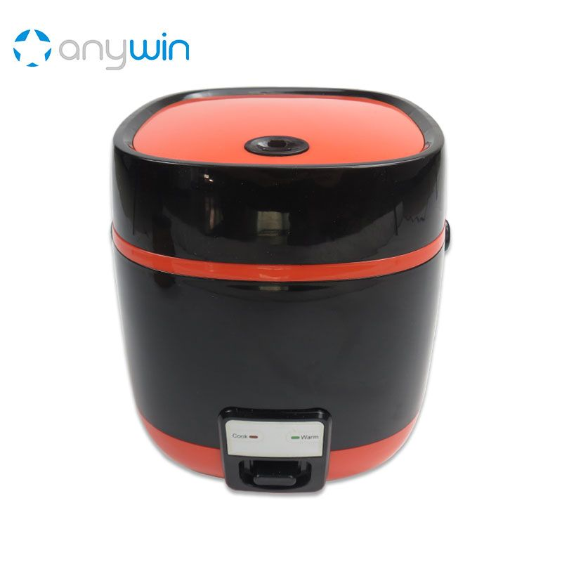1.2L Mini Rice Cooker Cauldron Baby Cook Heating Lunch Box Home Appliances Caoutchouc Cast Iron Container for Soup Multivarka