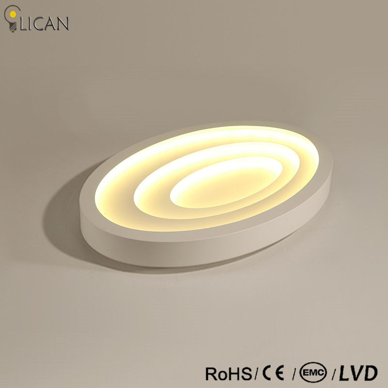 LICAN Moderne Led-deckenleuchten Für Wohnzimmer Kunst Decke Lampen Ovale Form Weiß Esszimmer Schlafzimmer Leuchte Laternen