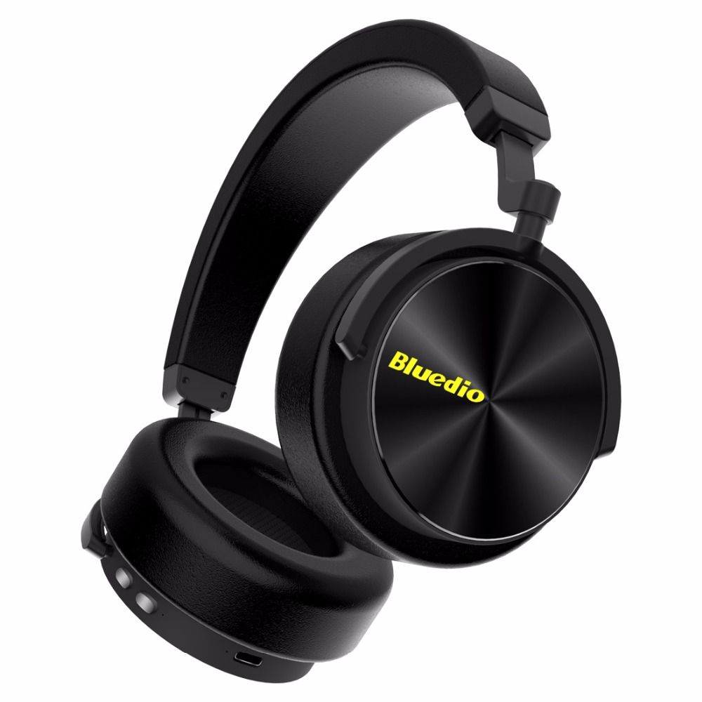 Bluedio T/5 bluetooth headphone Active <font><b>Noise</b></font> Cancelling headset with microphone for phones and music earphone