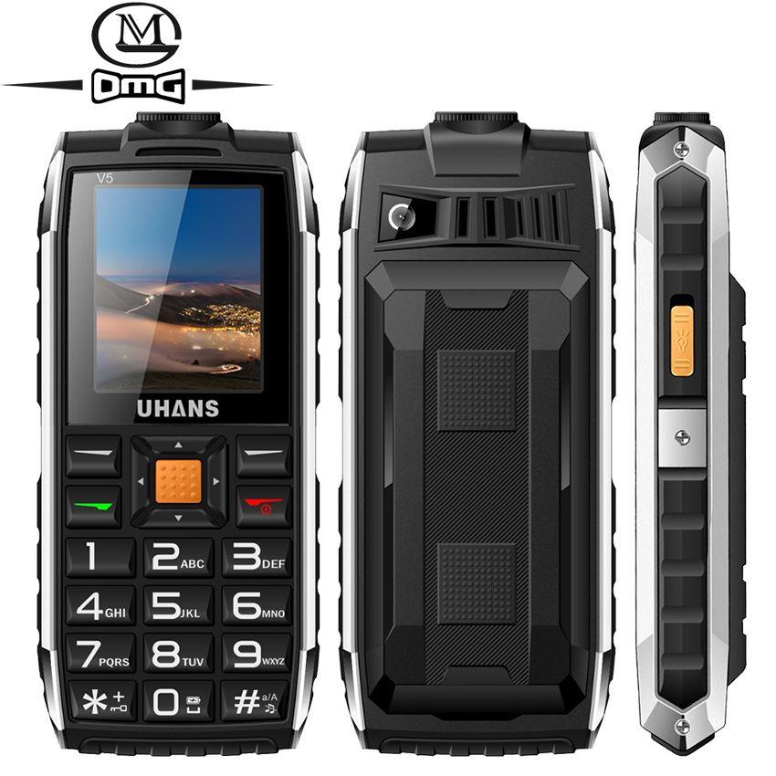 Uhans V5 Russian keyboard shockproof mobile phone ...