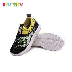 2019 бренд лето Весна Мальчики Детские кроссовки обувь для девочек школьные повседневные туфли кроссовки мягкая подошва легкие размеры 21-38