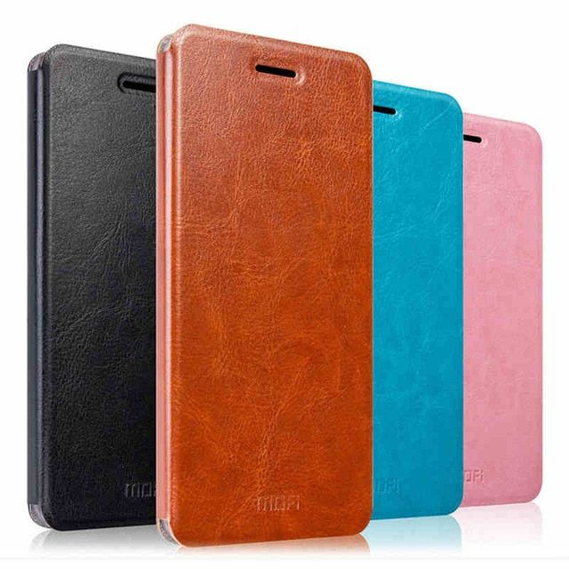 Original Mofi For Xiaomi Redmi Note 4X Case Flip Luxury Leather Stand Fundas Coque Cover Case For Xiaomi Redmi Note 4X
