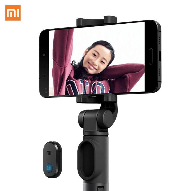 Xiaomi 400MM Long Metal Stick Bluetooth Wireless BluetootKey Selfie Stick Tripod Handheld Foldable Smart Cell Phone Stick