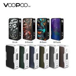 In stock VOOPOO DRAG 2 177W TC Box MOD e cigarette and Drag 157W box mod Vape w/ US GENE chip no 18650 battery Box mod vs Shogun