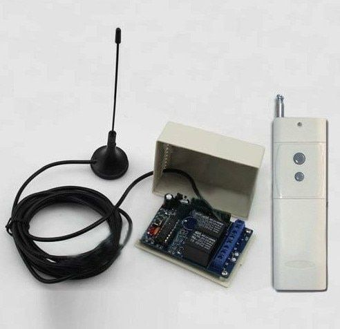 3000 Mt DC12V 10A 2CH 315/433 MHz RF Wireless Fernbedienung Netzschalter Radio Controller Sender Empfänger Mit antenne