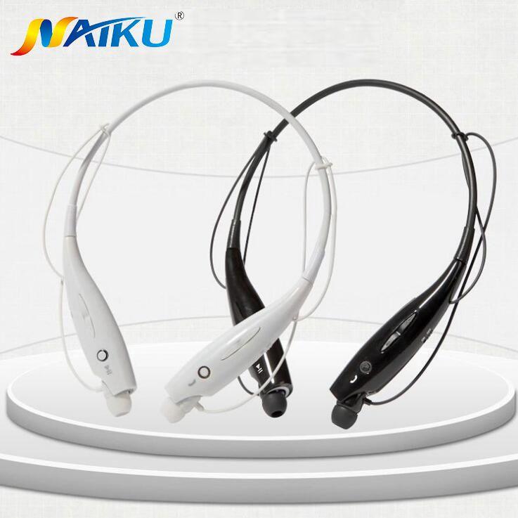 Горячие naiku-730 Беспроводной bluetooth-гарнитура Спорт Bluetooth Наушники наушники с микрофоном бас наушники для Samsung iPhone naiku730