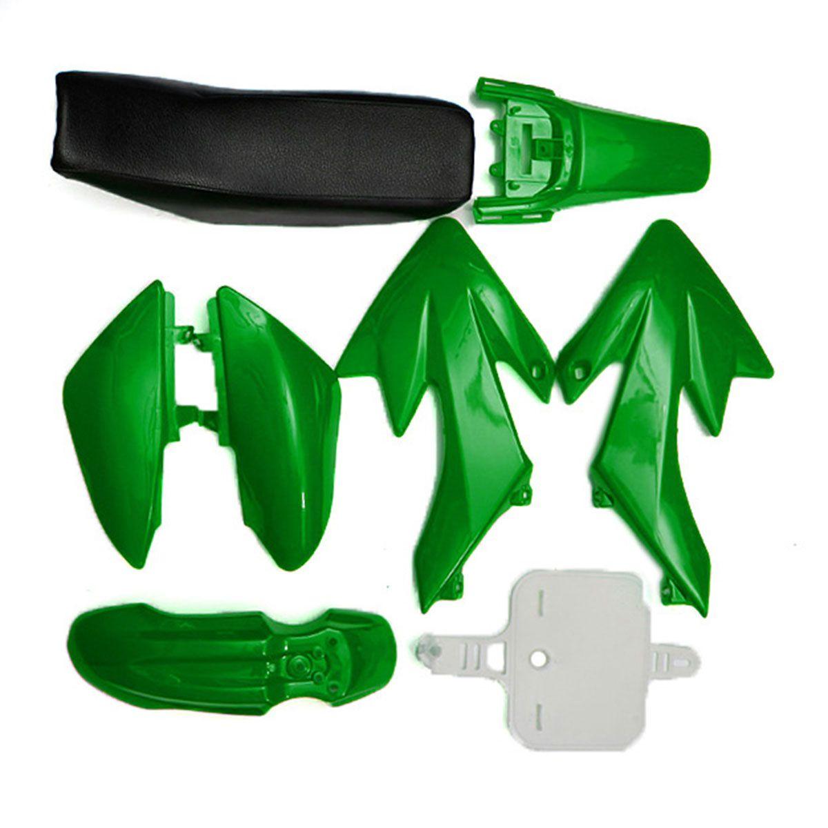 8pcs/set 4 Color 50cc 110cc 125cc 140cc Plastic 4-Stroke CRF50 Pit Bike Set Mudguard Seat