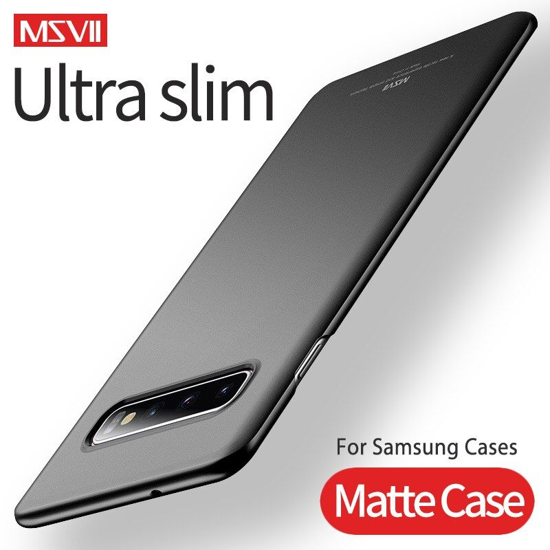 Cases For Samsung S10 S9 S8 Plus MSVII Hard PC Ultra Slim Matte Case For Samsung Galaxy Note 8 9 S10e S9 S8 S7 S6 Edge Covers