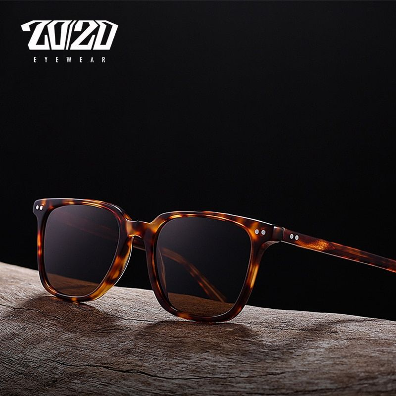 20/20 Brand Classic Polarized Sunglasses Men Women Acetate Unisex Sun Glasses for Man <font><b>Driving</b></font> Eyewear Oculos AT8037