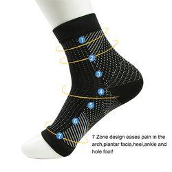 Dropshipping Comfort Foot Anti Fatigue women Compression socks Sleeve Elastic Men's Socks Women Relieve Swell Ankle sokken