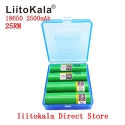 2019 Новый Liitokala 18650 2500 мАч батарея 3,7 в оригинальный INR18650-25RM 20A разряда li-Литий-ионные аккумуляторы
