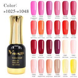 VENALISA Gel Lacquer 12ml 120 Colors CANNI Factory Nail Art Design Super Enamels DIY Soak off UV LED Organic Odorless Gel Polish