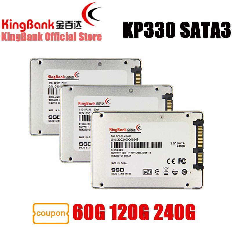 KingBank SSD SATA3 2.5 inch 240GB 120GB 60GB KP330 Internal Solid State Drive Hard 2.5'' For Laptop PC 120 GB Drive Disk HD HDD