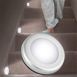6LEDs Motion Sensor light Led night light PIR Battery-Powered for Closet, Stairs, Deck, Basement Hallway Wall Cabinet luminarias