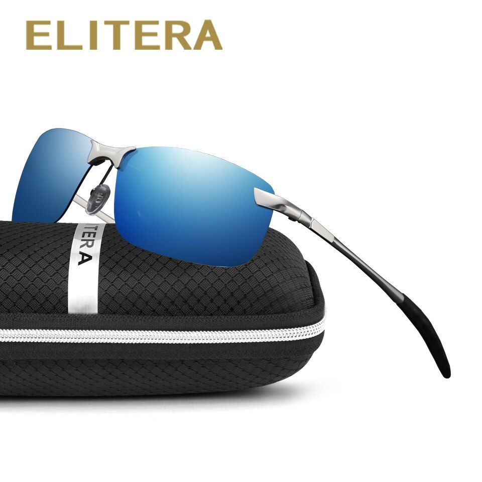 ELITERA New brand Men Polarized Sunglasses Sports Men Color film Driving Sun Glasses oculos Eyewear Accessories Wholesale