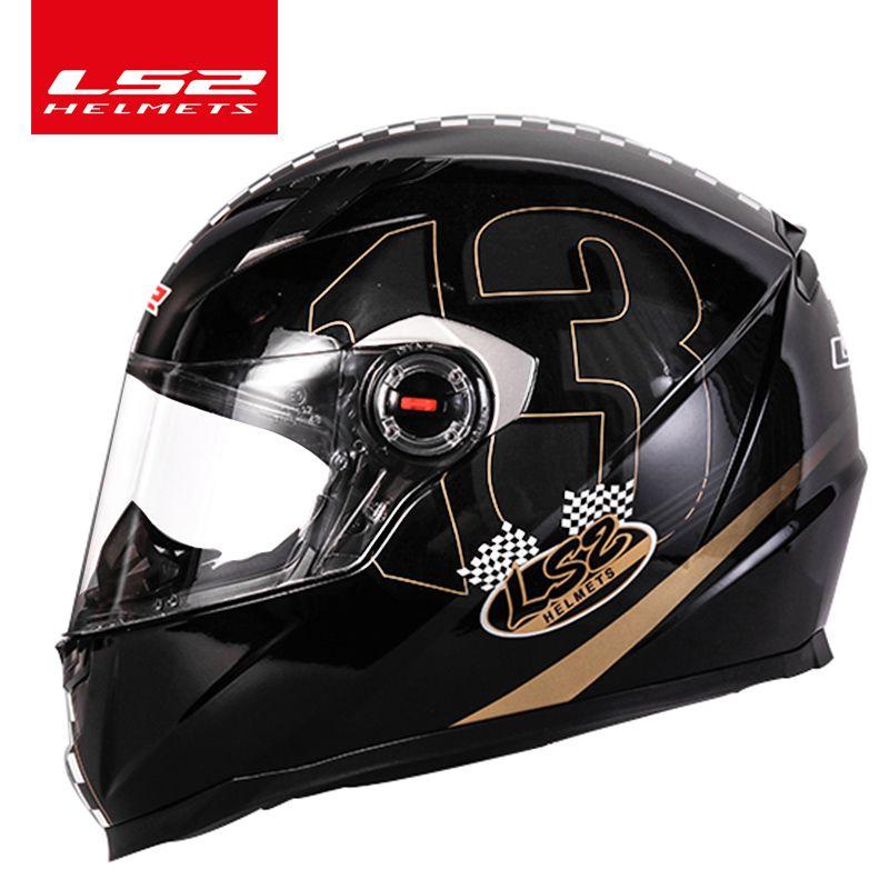 LS2 alex barros Full Face motorcycle helmet racing moto helmets isigqoko capacete casque moto ECE approved no pump FF358 helmets