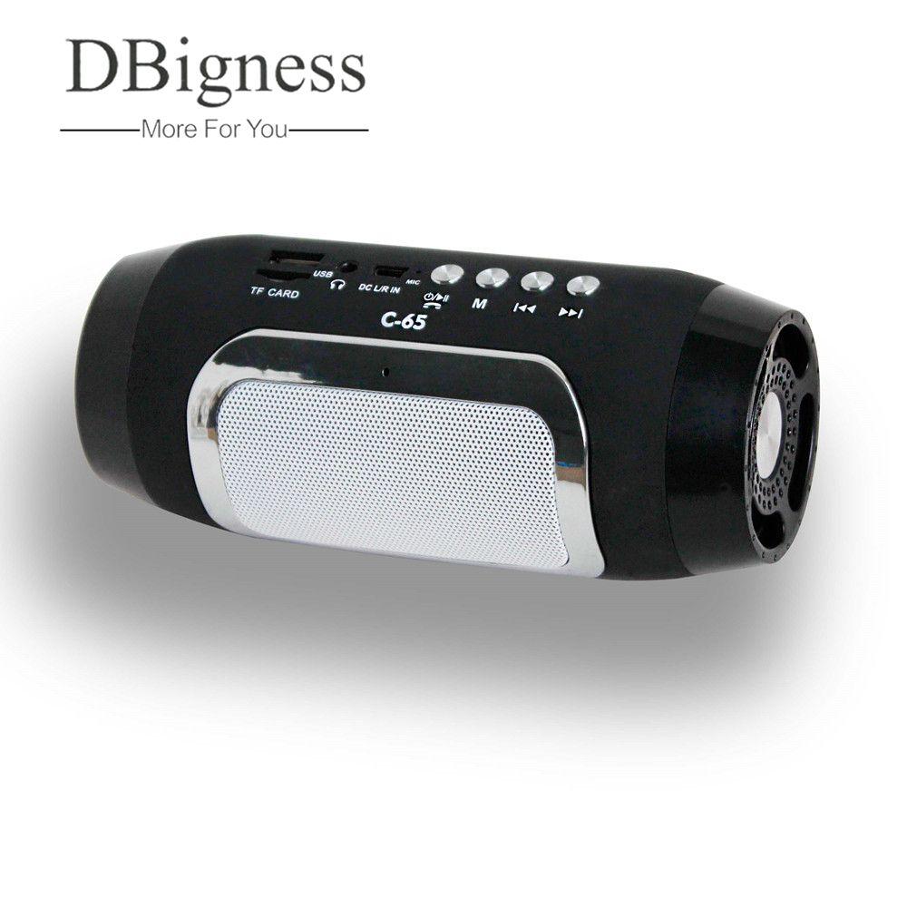 Dbigness Bluetooth Speaker Portable Speaker Mini Wireless Speaker Stereo Subwoofer Support USB TF FM <font><b>Handsfree</b></font> for Phone Samsung