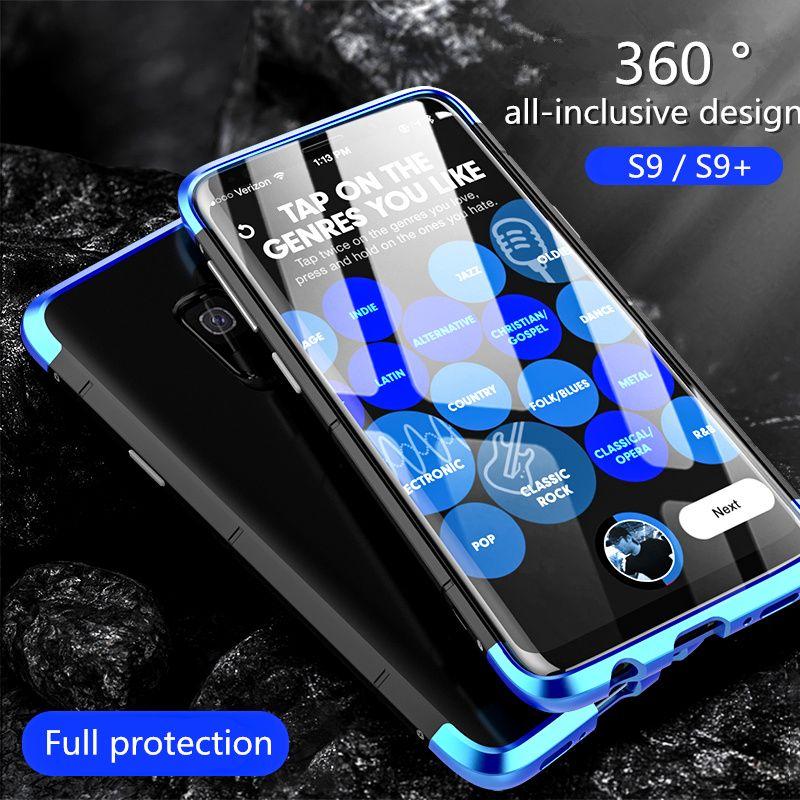 Pour Samsung Galaxy S9 Cas De Luxe BOBYT 3in1 Antichoc En Aluminium En Métal + PC Slim Butoir Pour Samsung Galaxy S9 Plus La Couverture
