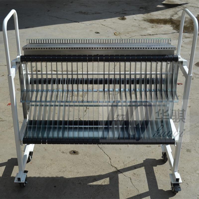 Trolley für Ys12 YAMAHA Chip Mounter Racks Lagerung Warenkorb gebrauch in bestückungsmaschine SMT Ersatzteile