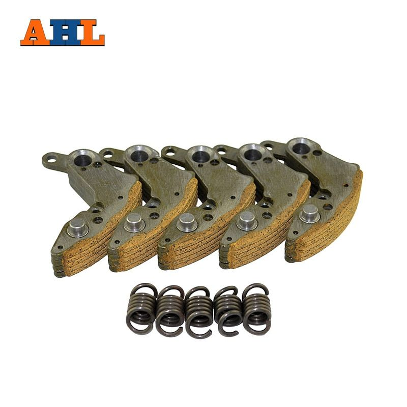 AHL Motorcycle Clutch Pads with Spring & Pawl Assy For Scooter Moped ATV For HONDA CF500 CF500cc 500cc CF188