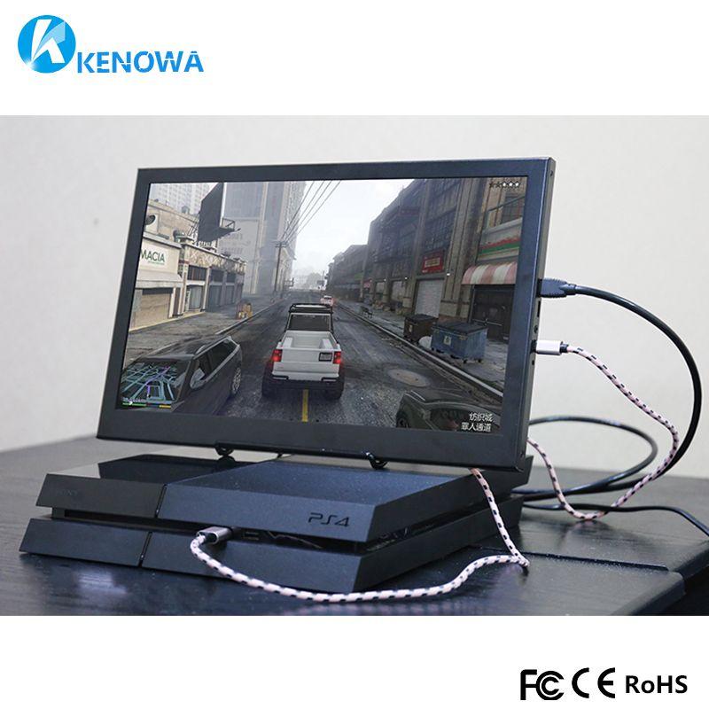 15,6 super slim Tragbare Monitor PC 1920x1080 HDMI PS3 PS4 Xbox360 1080 p IPS LCD LED Display monitor für Raspberry Pi 3 B 2B