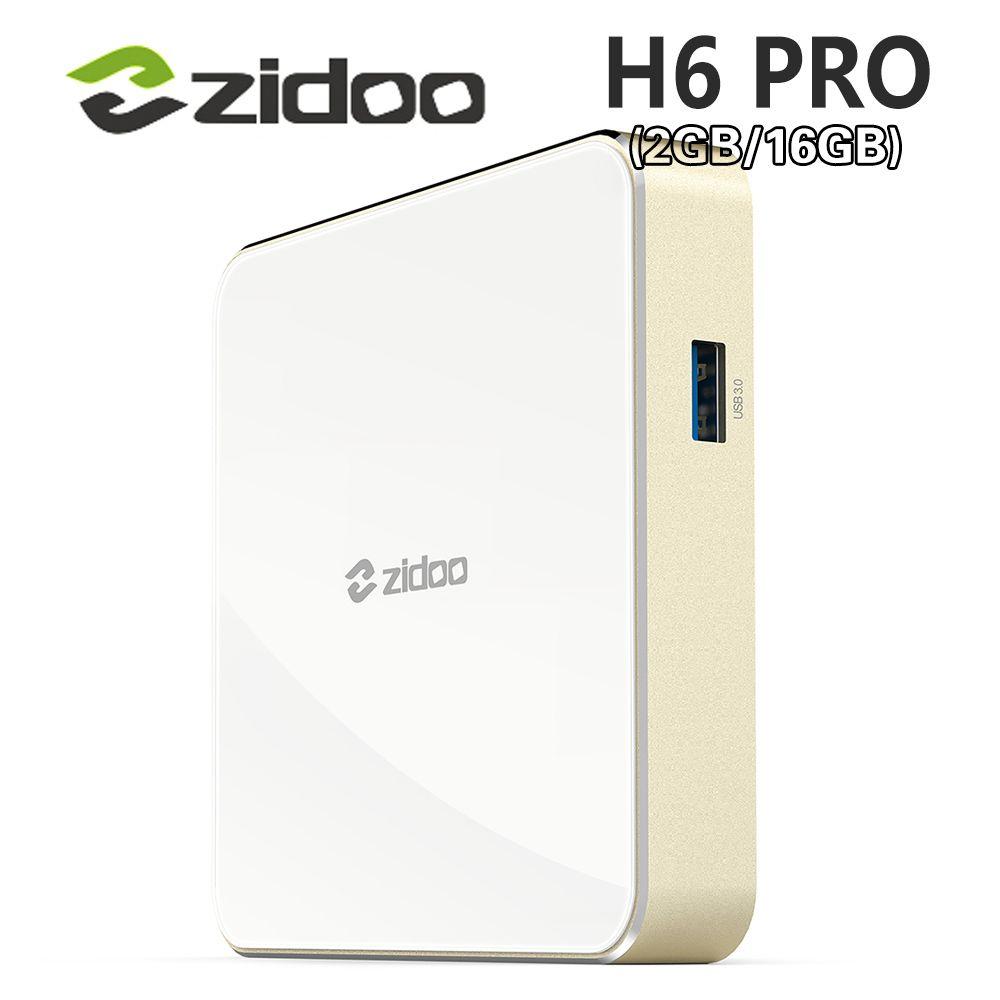 Allwinner H6 Android 7.0 Zidoo H6 PRO TV Box DDR4 2GB eMMC 16GB ac 4K 10Bit HDR WIFI 1000M LAN Dolby Digital DTS-HD Smartcolo