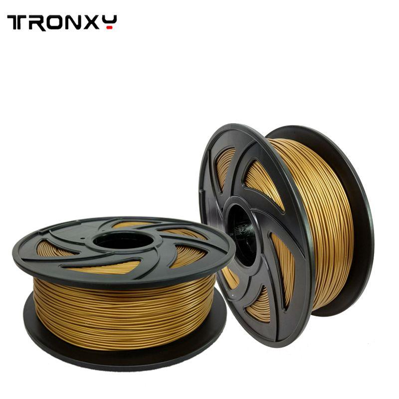 Tronxy 3d printer filament PLA/ABS 1.75mm plastic Rubber Consumables Material 0.25/0.5/1KG diverse kinds colours for you choose